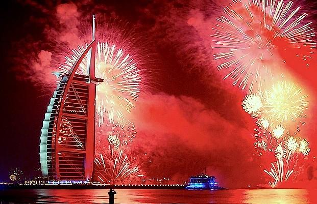 Dubai NYE 2015