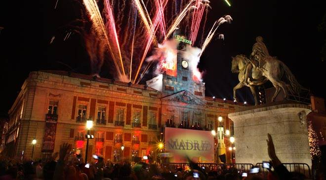 Madrid New Years Eve