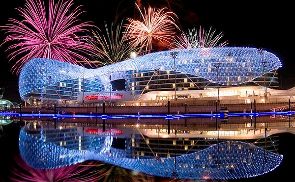 Abu Dhabi New Years Eve