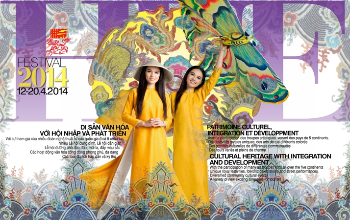 Hue Festival 2014 poster