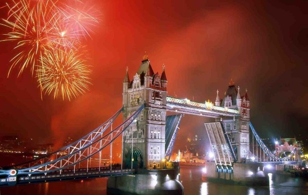New Years Eve in London UK