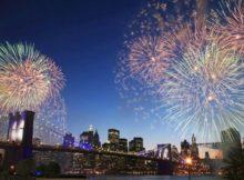 NYE Fireworks in NYC