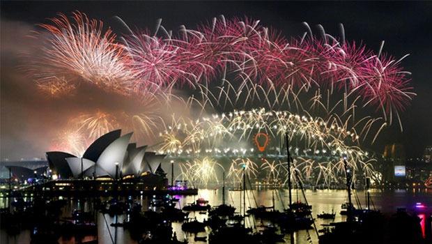 NYE Fireworks in Sydney