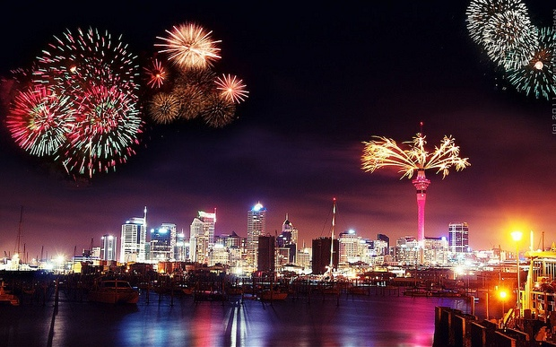 Auckland New Years Eve Celebrations