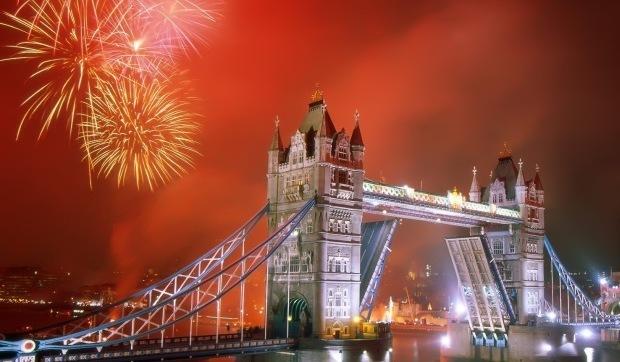 London Europe New Years Eve