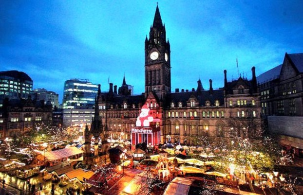 Christmas in Manchester