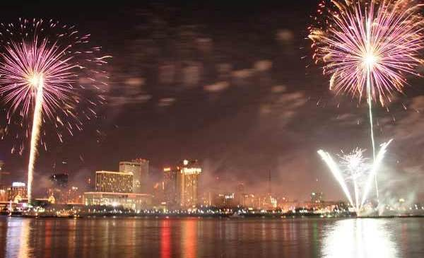 New Years Eve in NEw Orleans USA