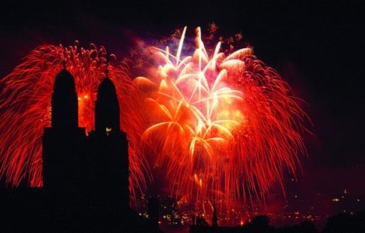 New Years Eve in Zurich city