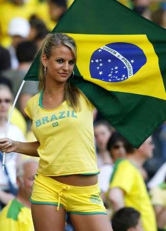 Brazil sexy girl fans