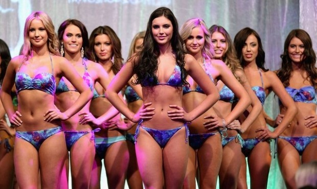 Miss Universe 2013 Contestants in Bikini