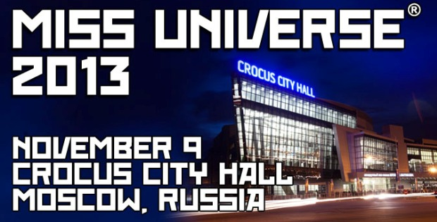 Miss Universe Pageant in Moscow, Russia