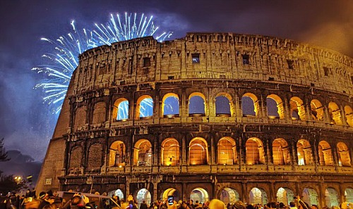 Christmas 2014 and New Years Eve 2015 in Rome