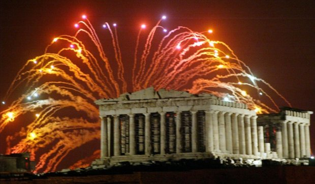 Athens New Years Eve
