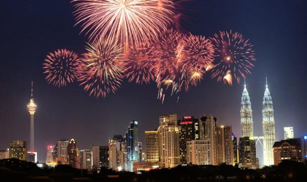 New Years Eve in Kuala Lumpur