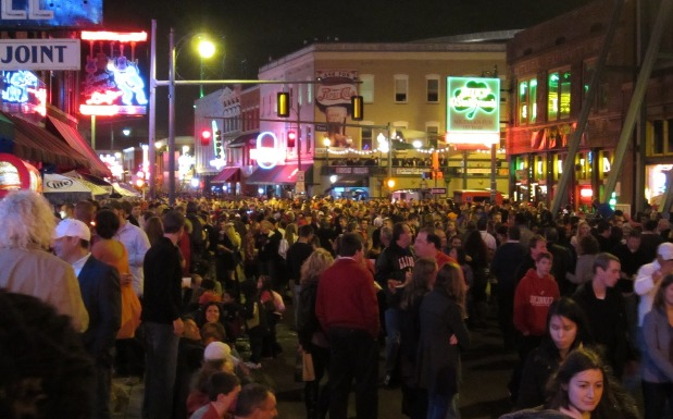 New Years Eve in Memphis