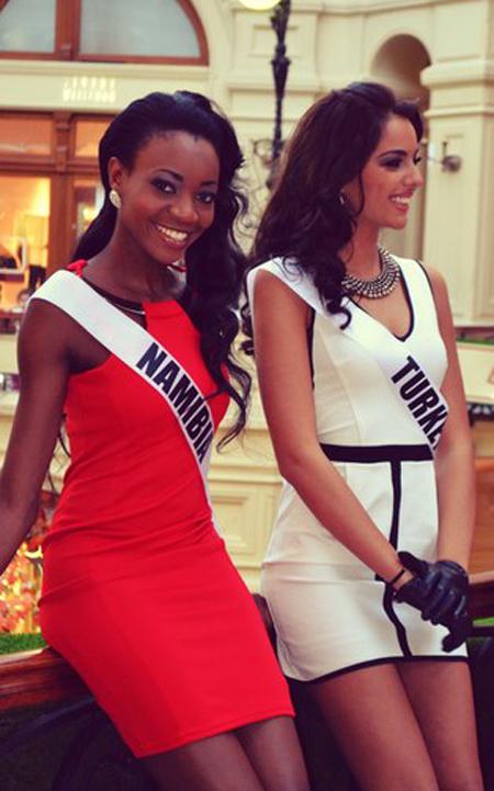 Miss Namibia Turkey