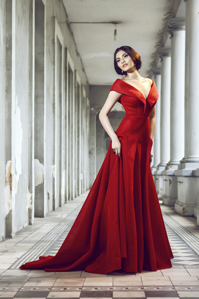 Truong Thi May in Modern Fashion