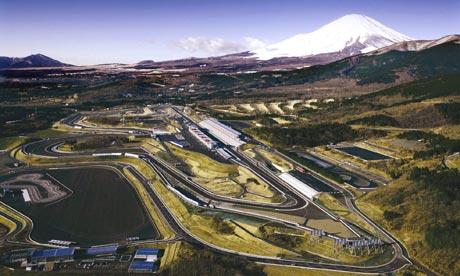 Japan F1 circuit Suzuka