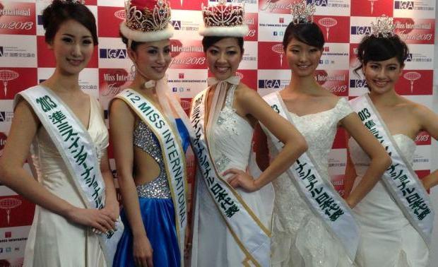 Miss International Candidates