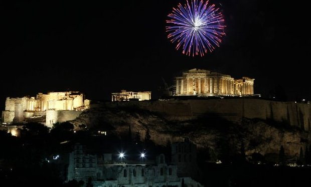New Years Eve in Athens City