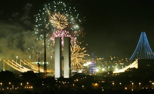 New Years Eve in Brasilia