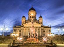 Helsinki Cathedral on NYE
