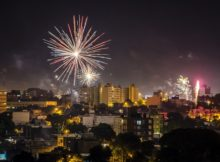 NYE Fireworks in Montevideo