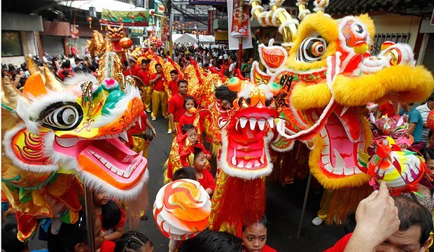 Lunar Chinese New Year in Phillipines
