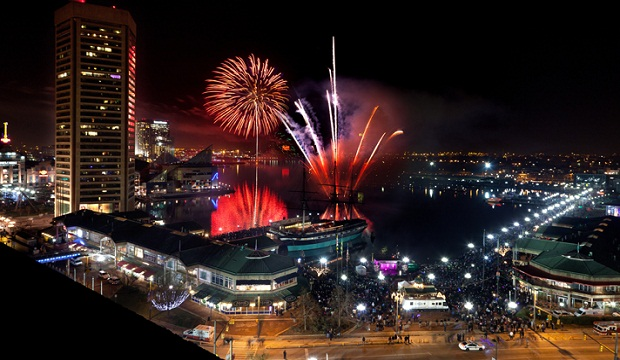 New Years Eve in Baltimore