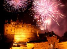 NYE Fireworks in Edinburgh