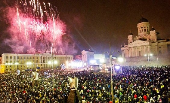 Helsinki New Year's Eve