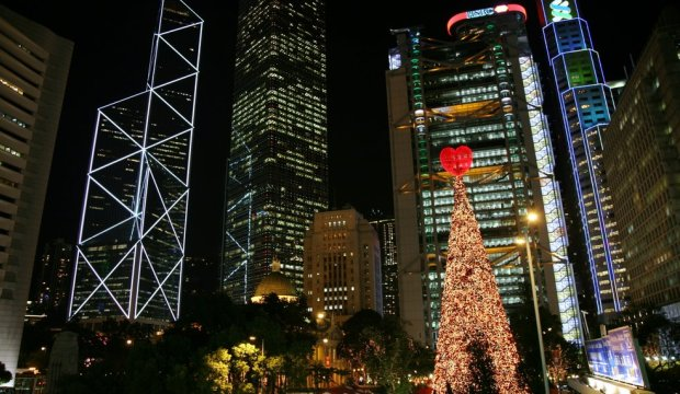 Christmas in Hong Kong China