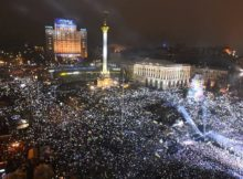 NYE Countdown & Fireworks in Kiev