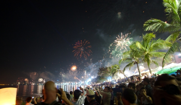 New Years Eve in Pattaya