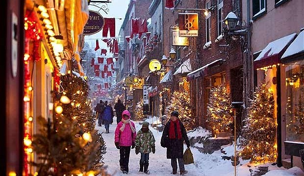 Xmas in Quebec City