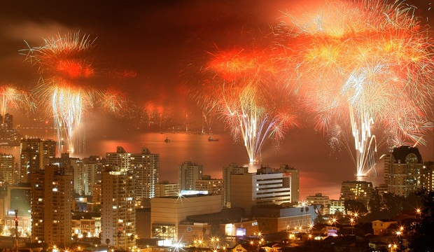 Santiago New Years Eve