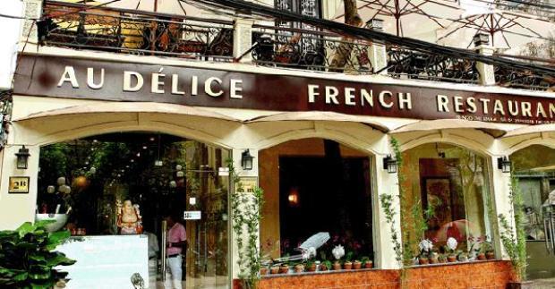 Au Delice Restaurant in Hanoi Vietnam
