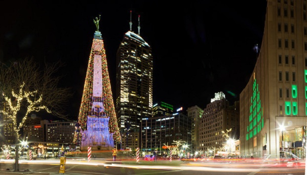 Christmas Decorations in Indianapolis