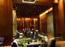 La Verticale Restaurant on NYE in Hanoi