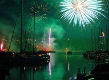 NYE Fireworks in Milwaukee Wisconsin