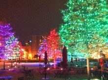 Christmas in Columbus, Ohio