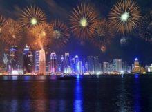 NYE Fireworks in Doha
