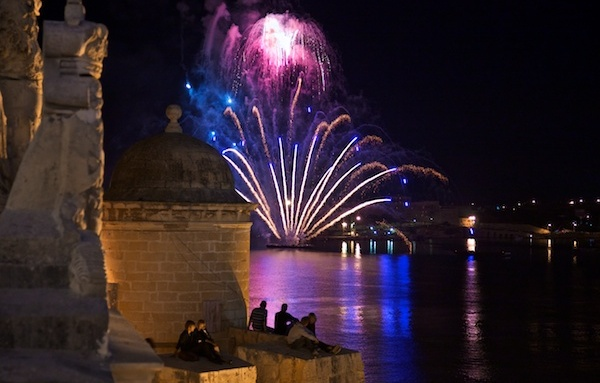 Malta Fireworks 2014 Festival