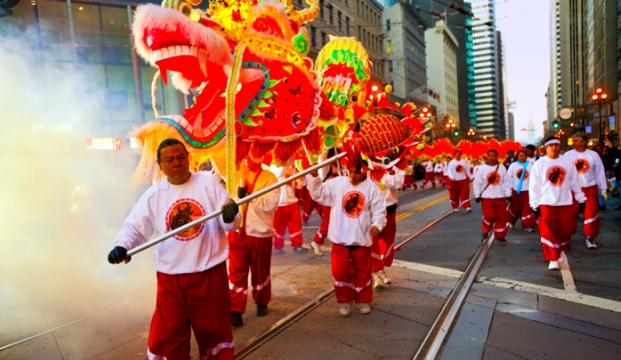 Chinese New Year celebrations in San Francisco