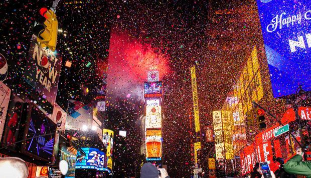 Best US cities NYE