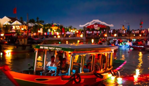 hoi an full moon lantern festival is held every full moon night in the ...