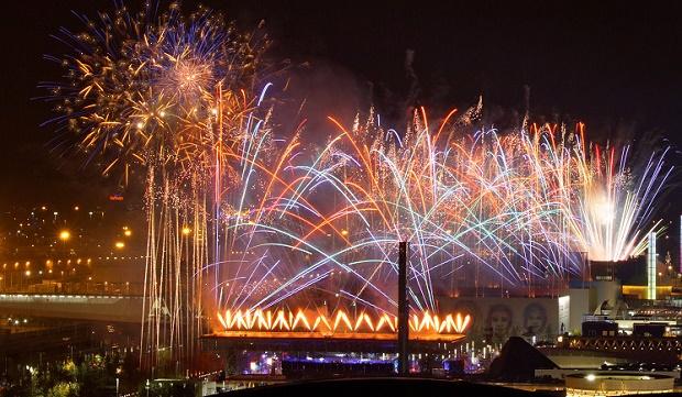 NYE Fireworks in Milan