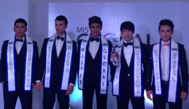 Mr Global 2014 winner