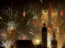 NYE Fireworks in Munich