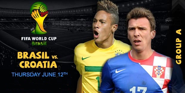 Brazil vs Croatia Live Update
